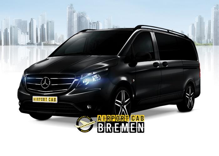 Bremen Airport Taxi Mercedes V-Class Grossraum XXL